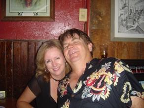 2006-07-28 Bird Cage Bar at Prescott AZ with Tami