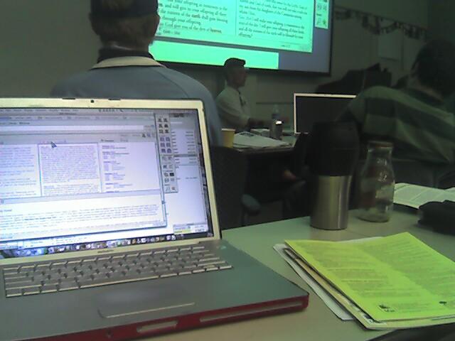 2007-03-15 Accordance Training at Fuller