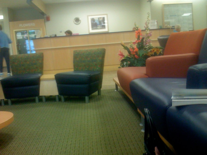 2007-09-26 SJ Hospital for juls day one - Lounge