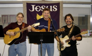 Vineyard Long Beach Worship Team (guitar band) circa 2006 by Joe Bustillos