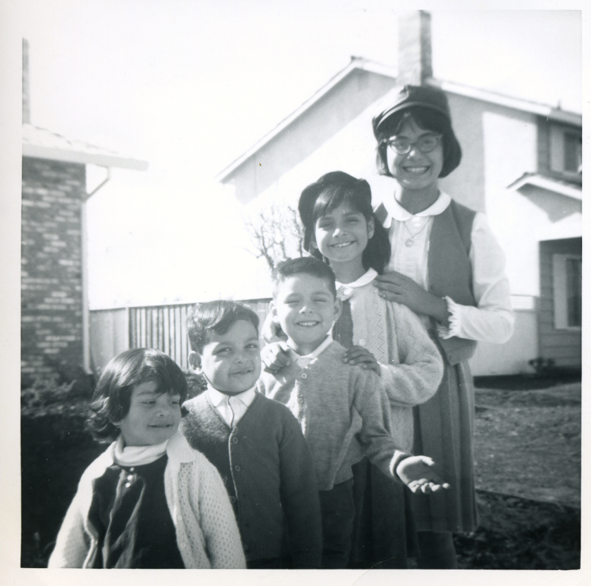 1960s - bustillos brood from youngest to oldest (I don't know what I'm doing with my hands...).