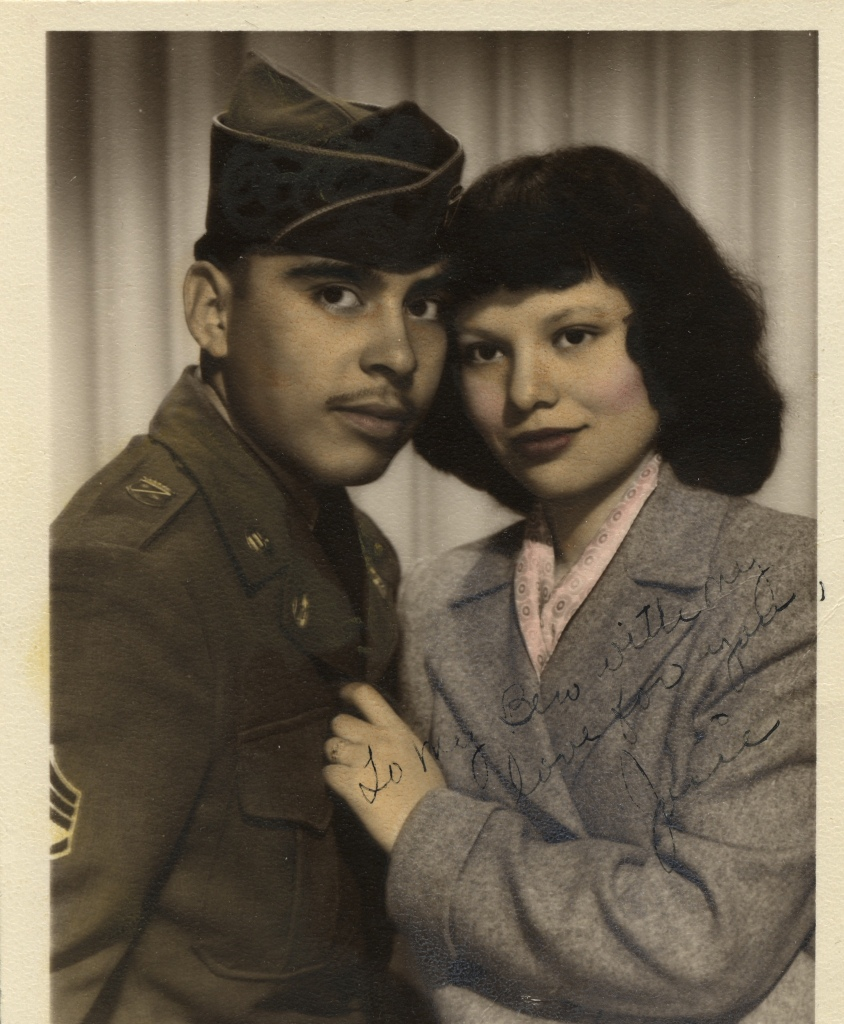 dad and mom - post-WWII dreamers