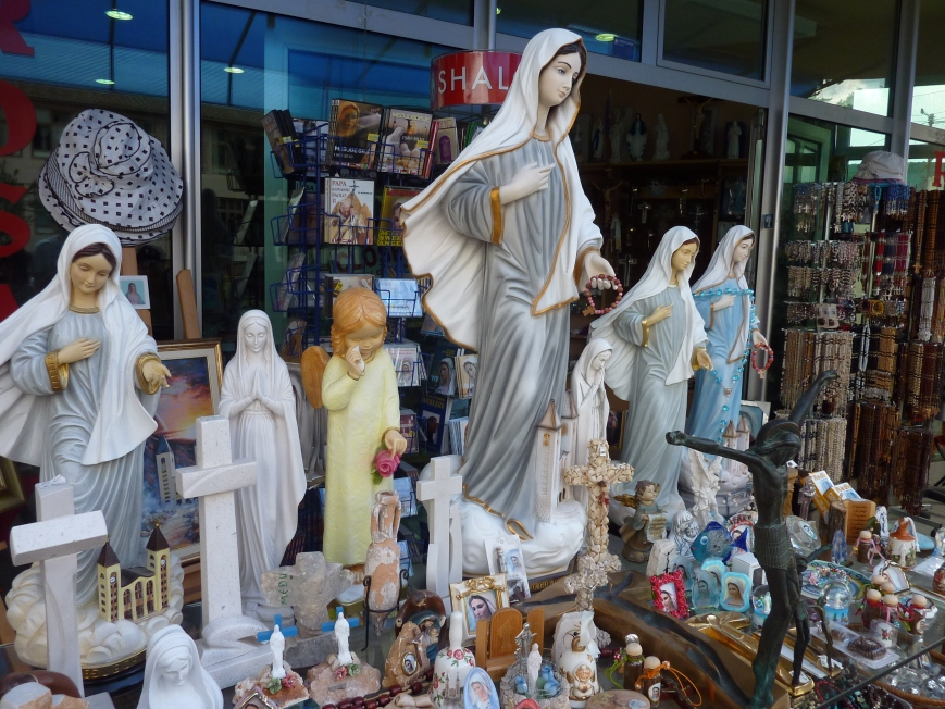 Virgin Mary Statues by Sean MacEntee