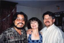 1998-07 Vegas - me, jen and creagan