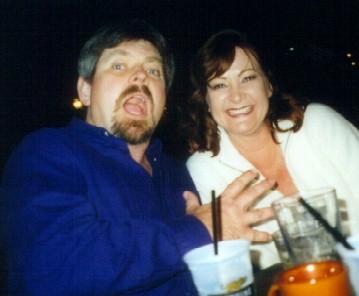 1999-12 Creagan joking with Merrilee