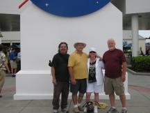 2010-10-31 KSC Visit with Creagan, Tami & Joel