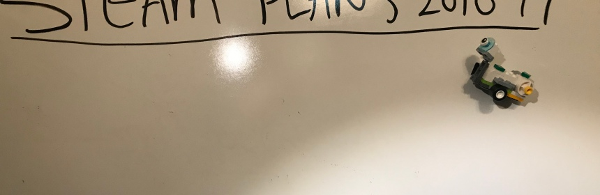 blank whiteboard - STEAM 2018-19