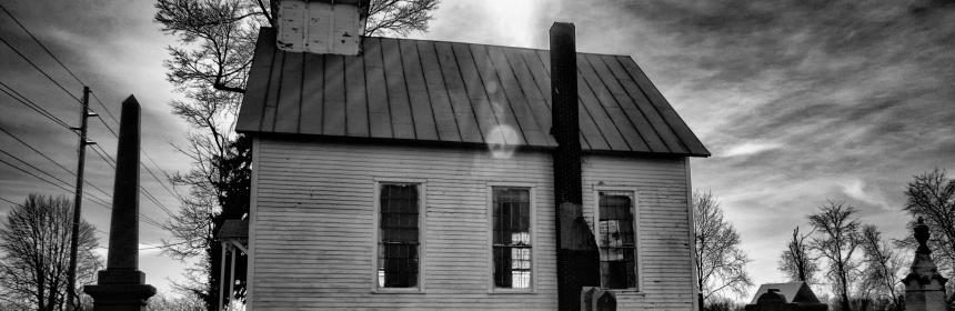 Mount Pleasant Church In Condit, Ohio by Mark Spearman