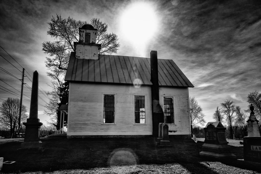 Mount Pleasant Church In Condit, Ohio by Mark Spearman