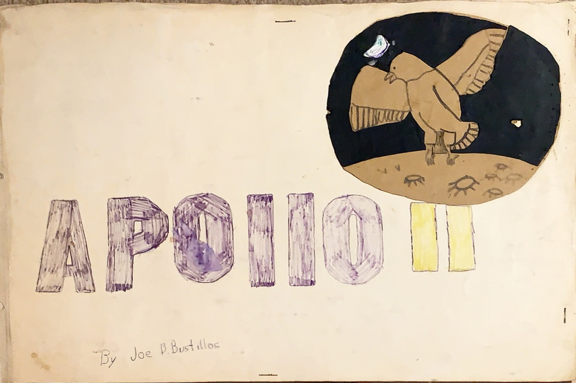 Apollo 11 - joe bustillos scrapbook cover