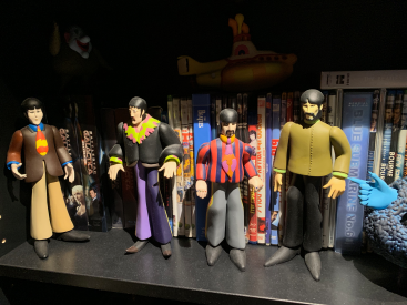 The Beatle Yellow Sub Action Figures by Joe Bustillos