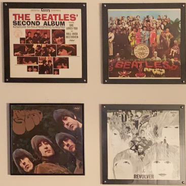 The Beatles - 2nd Album - Sgt. Peppers - Rubber Soul - Revolver, photographed by Joe Bustillos