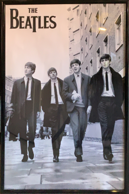 The Beatles - At the BBC poster, photograph by Joe Bustillos
