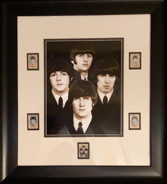 The Beatles - Stamps, photograph by Joe Bustillos