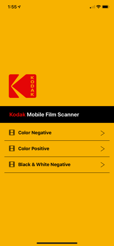 2019-07-25 Kodak Mobile Film Scanner-08 - software
