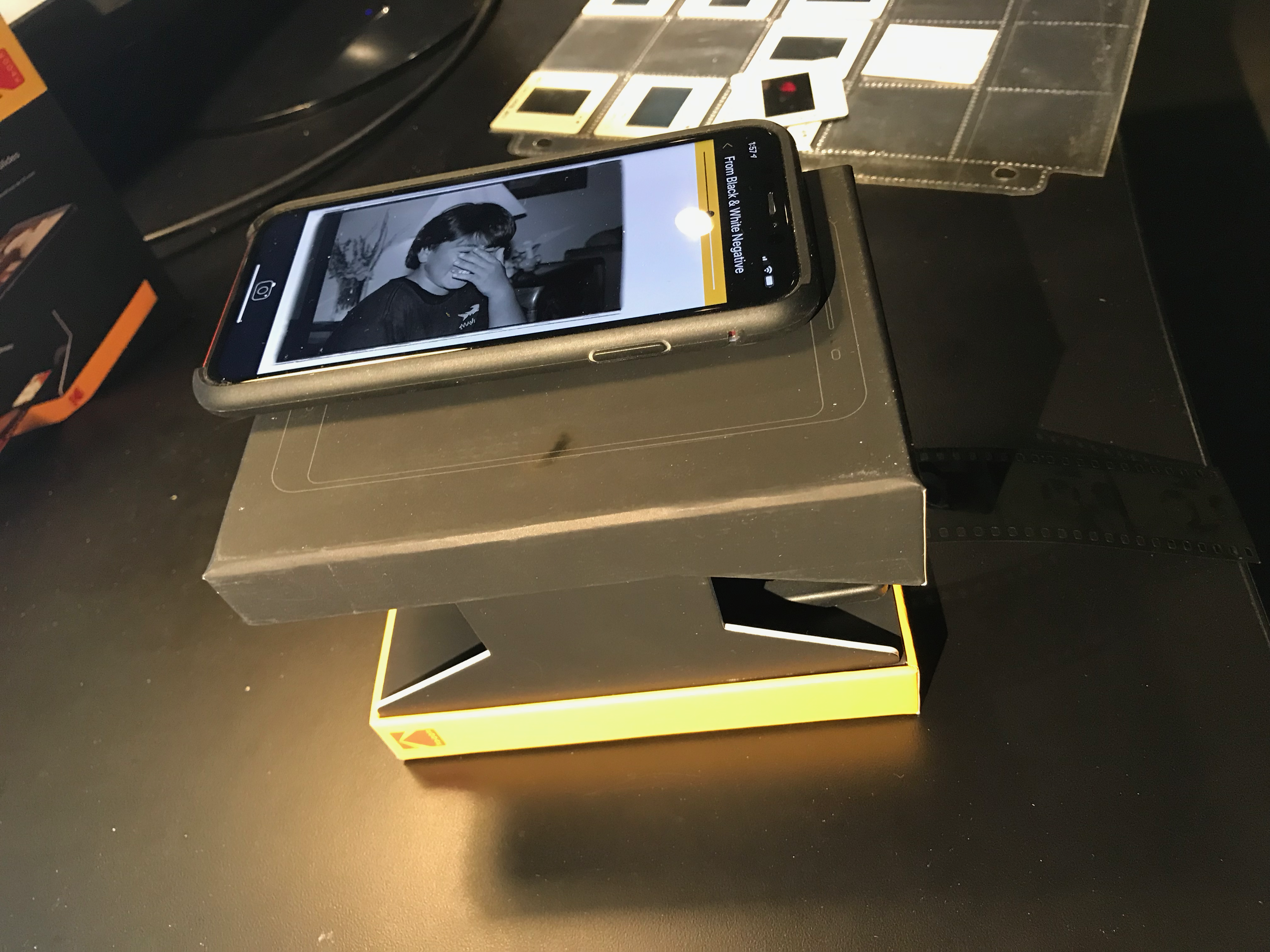 2019-07-25 Kodak Mobile Film Scanner-09 - software using phone as scanner