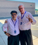 2019-08-28 twinsies with Mr. Sharp