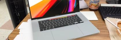"""VR MacBook Pro 16"""" on my desktop"""