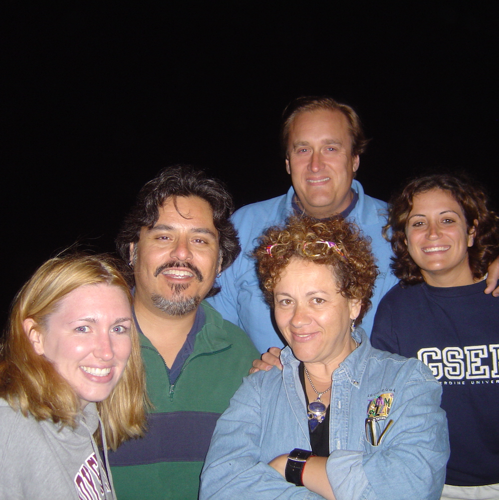 2005-06-24 Pepperdine Cadre X on the beach