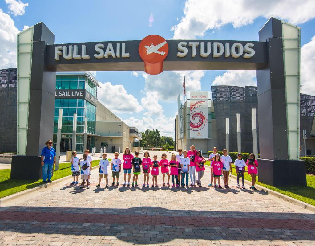 Full Sail Labs Camp One at the Sign