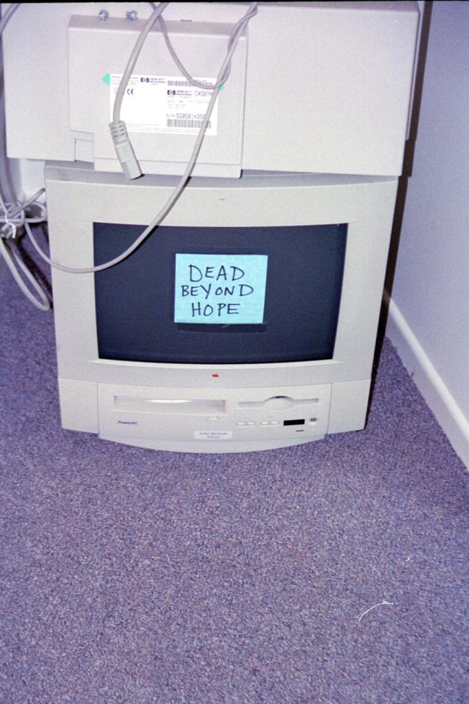 Technology Bone-Yard in Sissy's Computer Lab