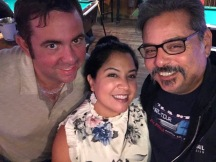 2017-07-10 Johnny's Fillin' Station (Orlando FL) with Mike & Blanca