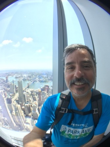2017-07-18 NYC Skyline at One World Observatory Tower