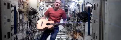Space Oddity by NASA astronaut, Chris Hatfield