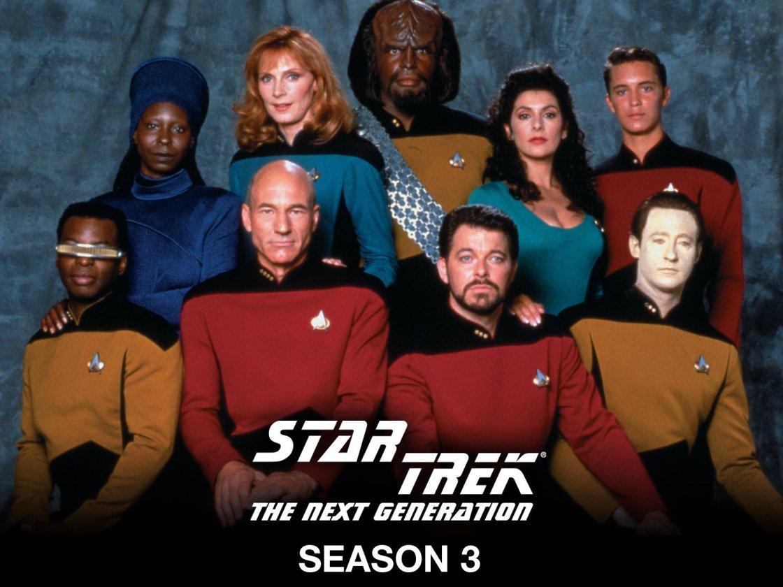 STTNG-Season3 cast
