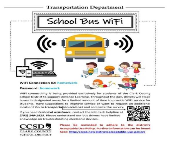 Ccsd Begins Wifi For Students Using Buses Joebustillos Com