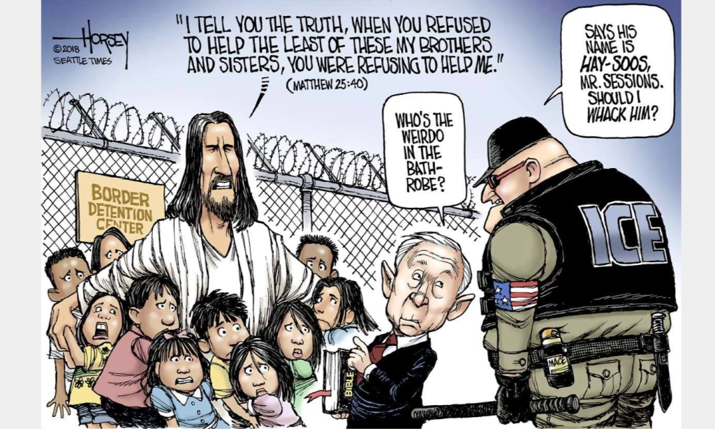 Jesus on the Border