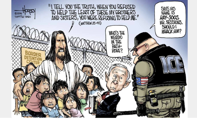 Jesus on the Border