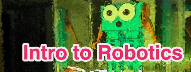 Intro to Robotics with Marty - Header