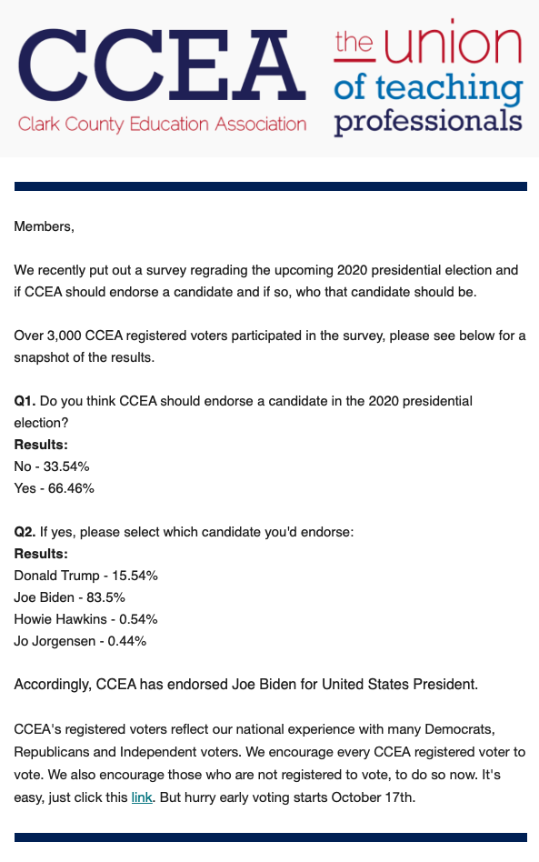 2020-09-30 CCEA backs Biden