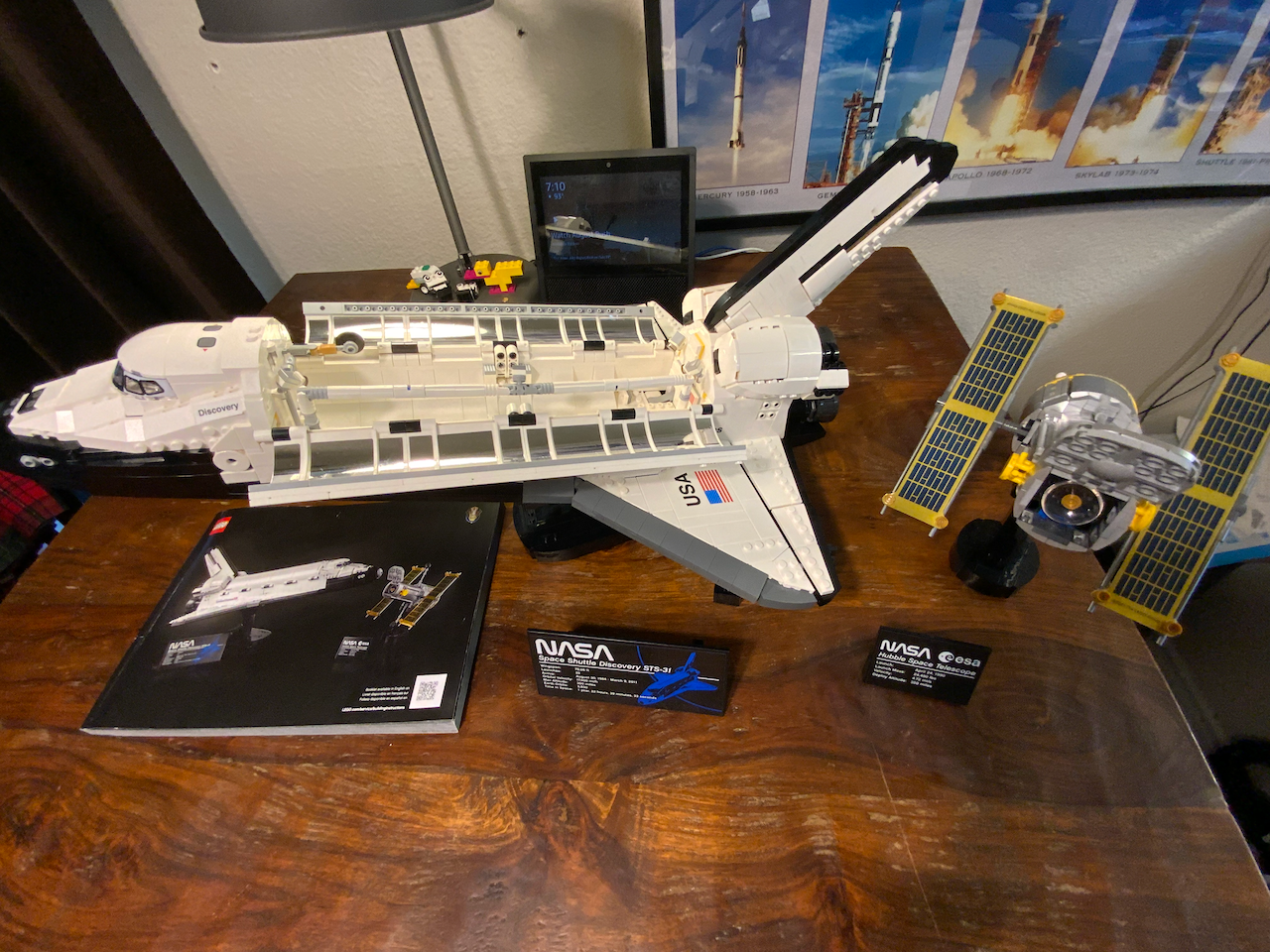 2021-06-24 LEGO Space Shuttle Discovery build